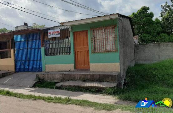 Casa en Barrio La Soledad, Juticalpa