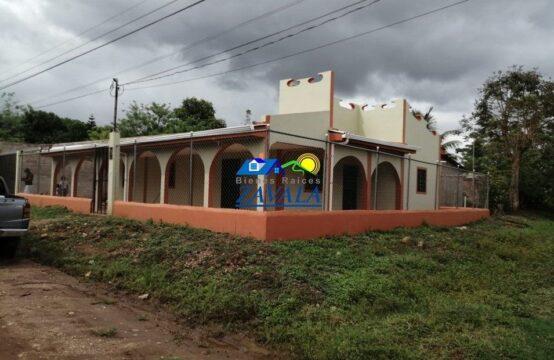 Casa en Colonia Villa Verde, Catacamas, calle hacia el Hospital Hermano Pedro
